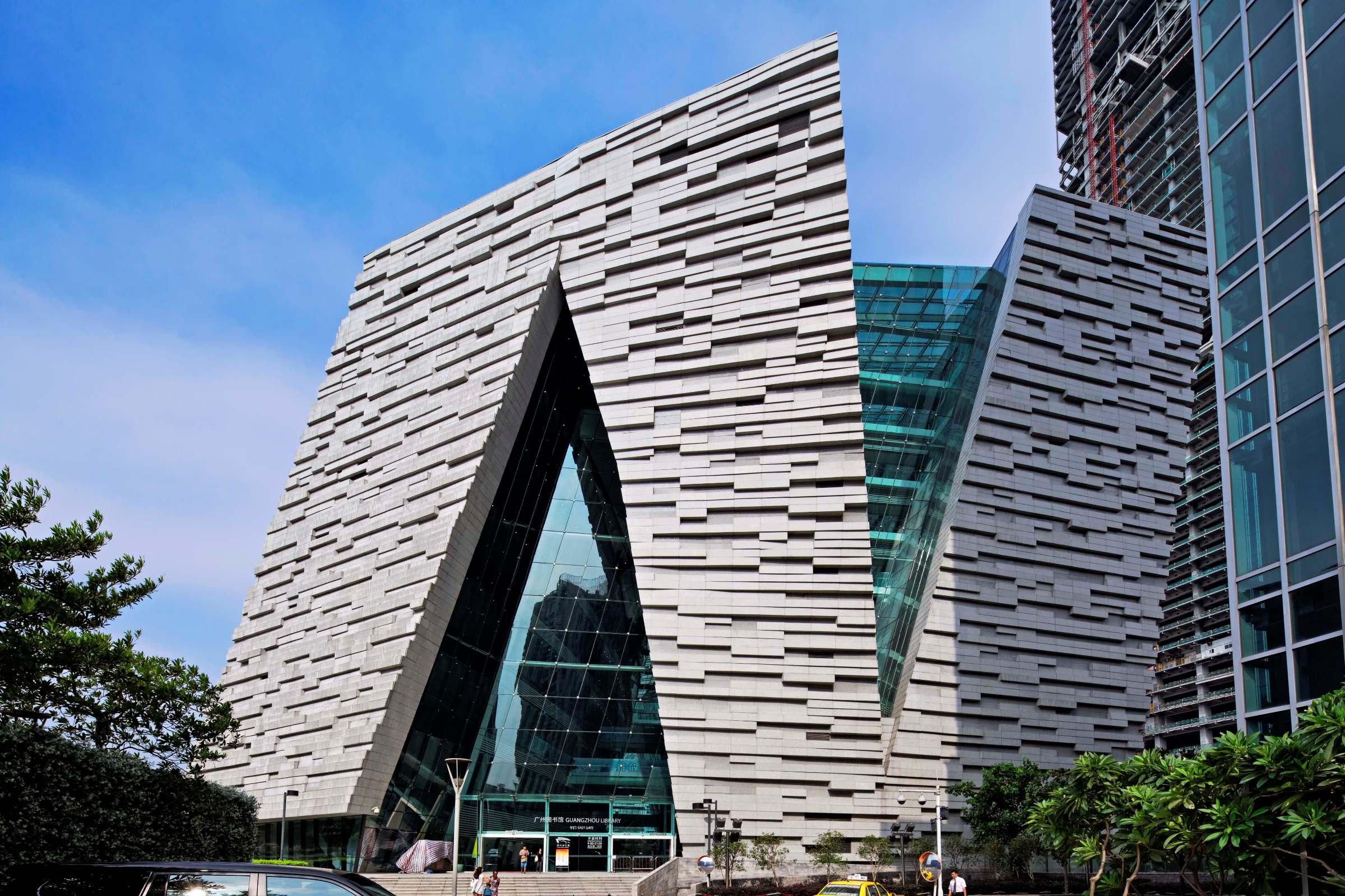 广州市文化局网站_广州图书馆 | 文化・体育 | Projects | NIKKEN SEKKEI LTD