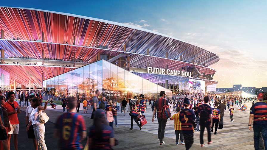 The Future Camp Nou Project ©FC Barcelona