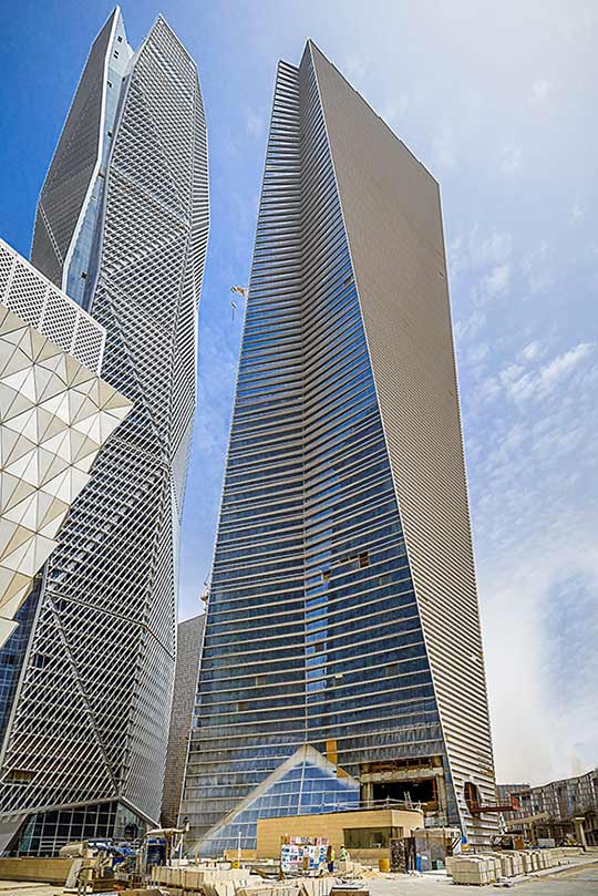 Nikken Sekkei Presents Tadawul Tower At High Rise Projects Ksa News News Nikken Sekkei Ltd